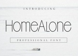 Home Alone Font