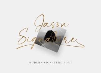 Jason Signature Font