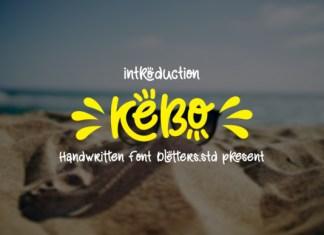 Kebo Font