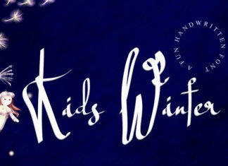 Kids Winter Font
