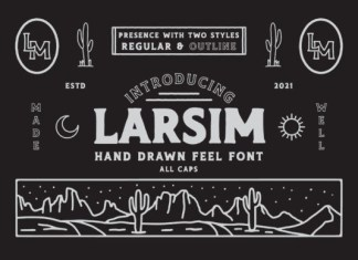 Larsim Font