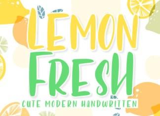 Lemon Fresh Font