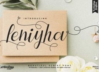 Leniyha Font