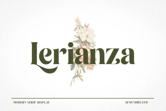 Lerianza Font