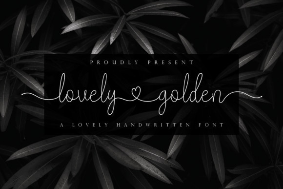 Lovely Golden Font