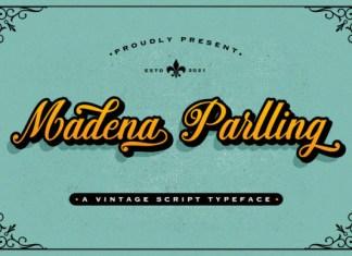 Madena Parlling Font