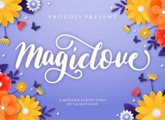Magic Love Font