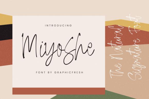 Miyoshe Font