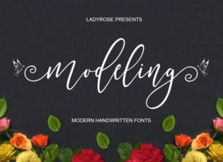 Modeling Font