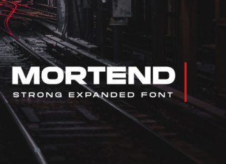 Mortend Font