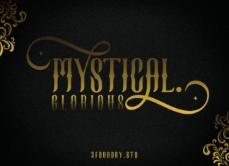 Mystical Glorious Font