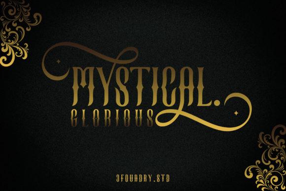 Mystical Glorious Font