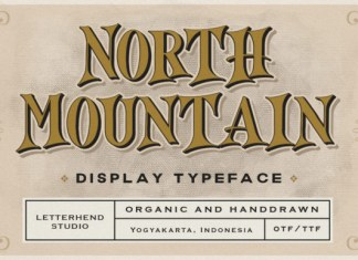 North Mountain Font