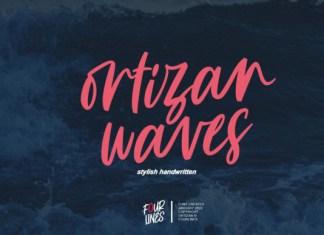 Ortizan Waves Font