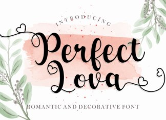 Perfect Lova Font