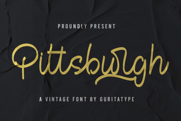 Pittsburgh Font