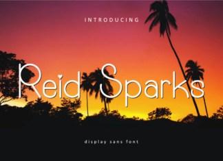 Reid Sparks Font