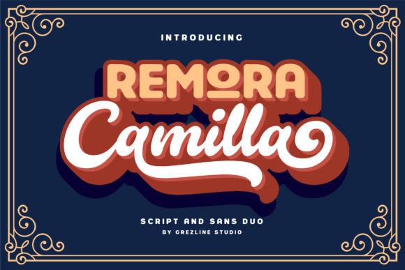 Remora Camilla Font