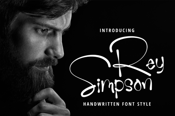 Rey Simpson Font