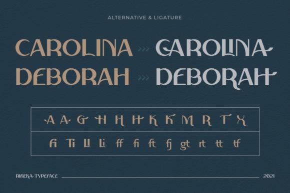 Rifieka Font