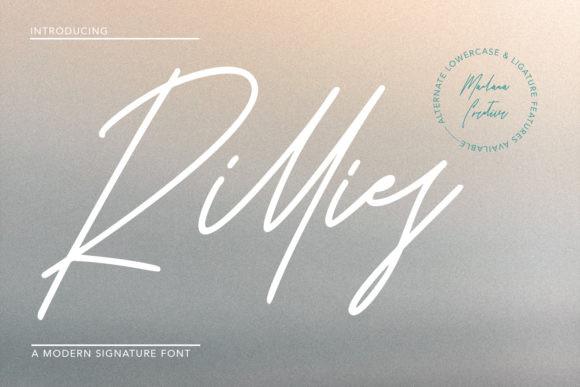 Rillies Font