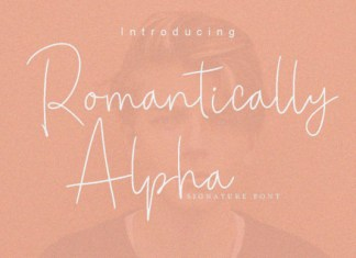 Romantically Alpha Font