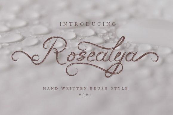 Rosealya Font