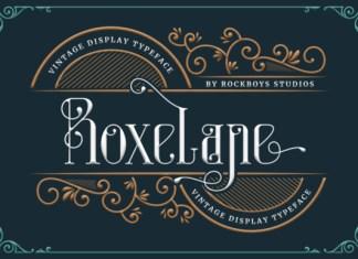 Roxelane Font