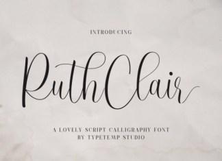 Ruth Clair Font