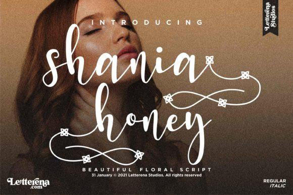 Shania Honey Font