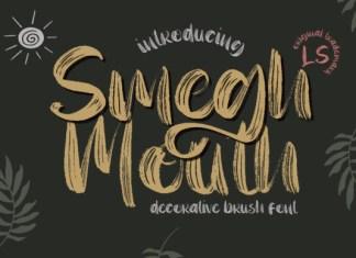 Smegh Mouth Font