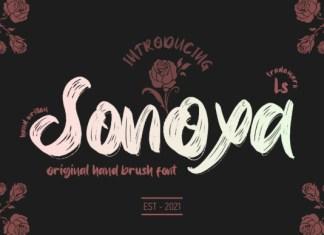 Sonoxa Font