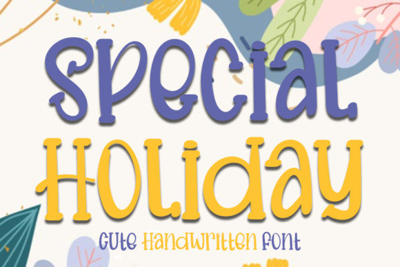 Special Holiday Font