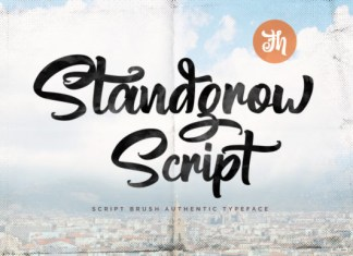 Standgrow Font