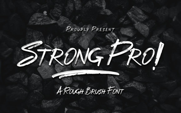 Strong Pro Font