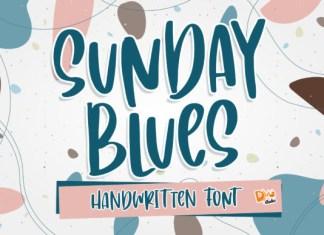 Sunday Blues Font
