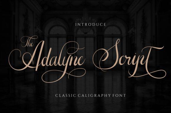 The Adelyne Font