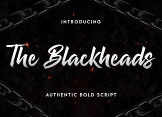 The Blackheads Font