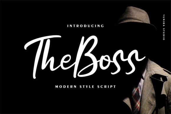 The boss Font