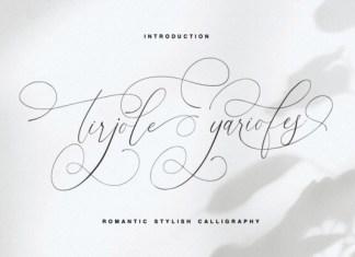 Tirjole Yariofes Font