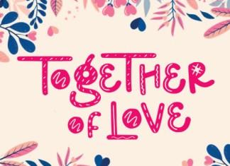 Together of Love Font