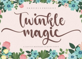 Twinkle Magic Font