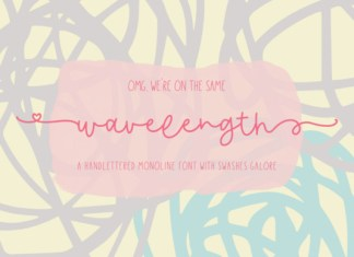 Wavelength Font