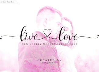 livelove Font