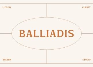 Balliadis Font