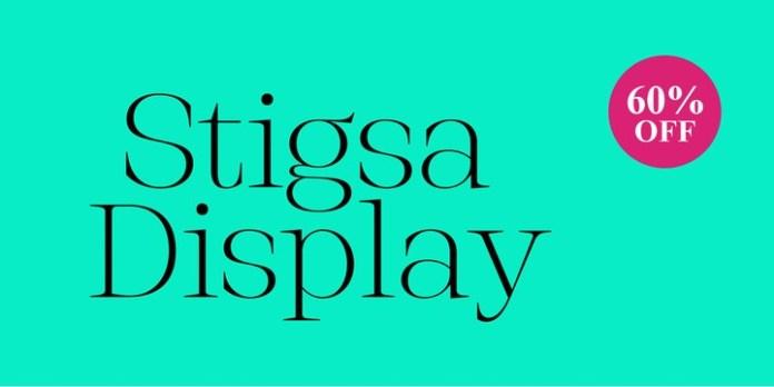 Stigsa Display Font