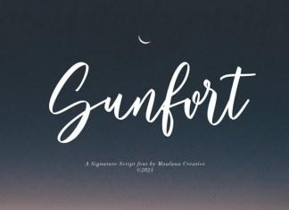 Sunfort Font