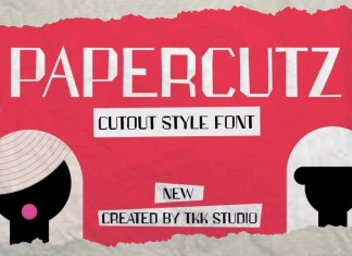 Papercutz Font
