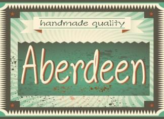Aberdeen Font