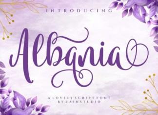 Albania Font